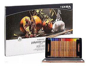 Lapis De Cor Lyra Rembrandt Polycolor 72 Cores