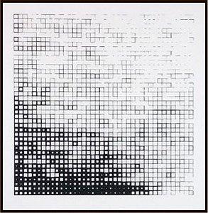 Abstrato Preto e Branco III
