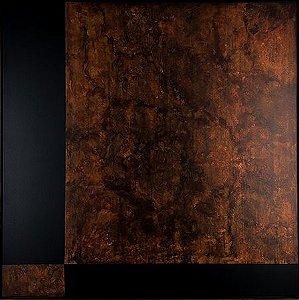 Abstrato Marrom e Preto