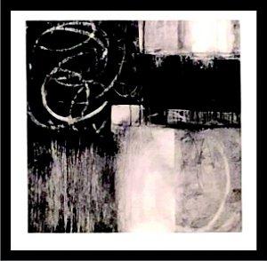 Abstrato Preto e Branco IV