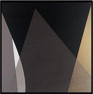 Abstratro Cinza e Preto