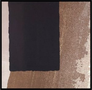 Abstrato Marrom III