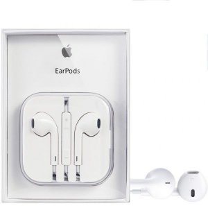 Nova : Apple Earpods 100% Original Com regulador de som Novo