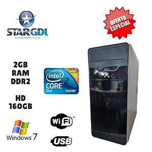 Nova : Computador Intel Core 2 Duo 2GB Ram DDR2 HD 160GB Windows 10