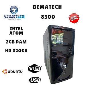 Nova : Computador Montado Bematech 8300 Proc. Intel Celeron 847 1.10 GHZ 2GB Ram DDR2 HD 320GB Linux Ubuntu