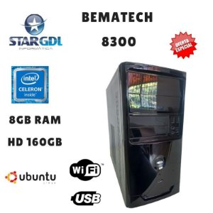 Nova : Computador Montado Bematech 8300 Proc. Intel Celeron 847 1.10 Ghz 8GB Ram DDR2 HD 160GB Linux Ubuntu