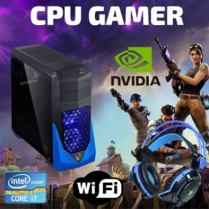 Cpu Gamer I7 16gb Ram Ssd 960 Wifi + Nvidia Geforce 1060 6gb