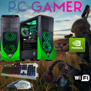 Cpu Gamer I7 3770 16gb Ram 1tb Ssd240 Gtx 1050ti + Kit Gamer