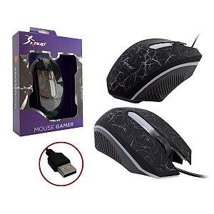 Mouse Gamer Knup Kp - v15 Usb Com fio USB 2.0 Novo!