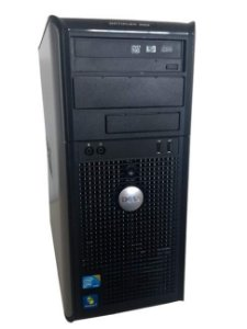 Cpu Torre Dell 380 Core 2 Duo 4GB SSD 120gb windows 07