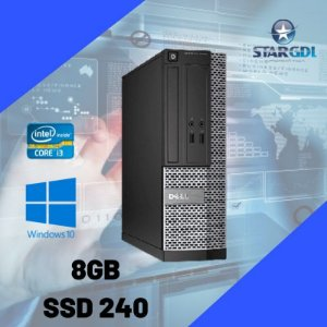 Cpu Dell 3020 Mini Core i3 8GB SSD 240GB Windows 10