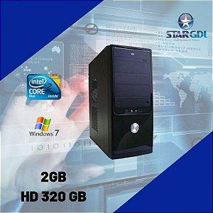 Nova: Pc Montado Core 2 Duo 2gb Hd320 Wifi Windows 7 Pro