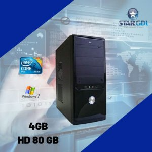 Nova: Pc / Cpu Star Core 2 Duo 4gb Hd80 Windows 7