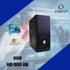 Nova: Pc Premium Proc. Intel Core 2 Duo 8gb 500gb Windows 7