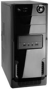 PC Montada Premium Dual Core 4gb 80gb Win10 Brinde Nova