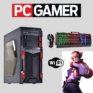 Cpu Gamer i5 16gb Ssd120 2tb Wifi Placa de Vídeo 2gb Win.10
