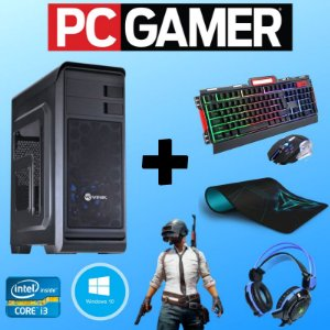 Cpu Gamer Core i3 8gb Hd 1tb Vídeo 2gb Kit Gamer + Jogos!