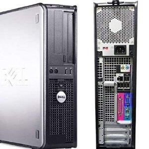 Cpu Completa Dell Core 2 Duo 4gb Hd 160 + Wifi