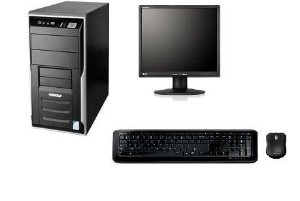 Cpu Completa Dual Core 4gb Hd160  + Monitor 17 + Caixinha