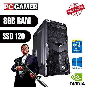 Pc Gamer i5 8gb Ram Ssd 120gb Hd 1tb Win10 Pró Gtx 750ti !!