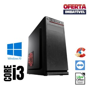 Cpu Star Intel Core i3 - Com Pacote de Programas - 8gb Hd 1tb Windows 10 Pró !!