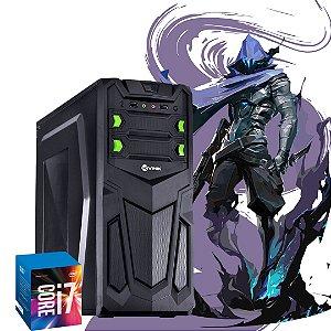 Pc Gamer - Devil Intel Core i7- 4466t  2.0 Ghz 16gb Ram Hd 500gb + 256gb Windows 10 Pró + Placa de Video Radeon R9 Devil 2gb Gddr5 Mini Displayport + Fonte 500W