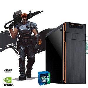 Pc Iron Gamer i5 2400  8gb Ram Hd 500 + SSd 120 Windows 10 Pró - Placa de vídeo Gts 450 2gb Off - Gravador de DVd