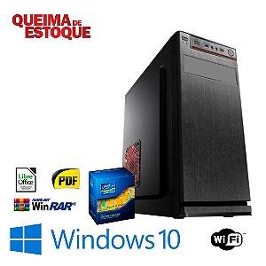 Cpu Montada Star Core i5 8gb Hd 500gb Windows 10 Pró