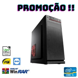 Cpu Star Montada i5 8gb Hd 2tb Win10 Pró - Wifi + Programas