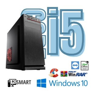Cpu Desktop Core i5 4gb SSd 120gb Windows 10 Pró - Dvd - Rw