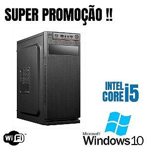 Promoção - Cpu Star Core i5 4gb Ram Hd 500gb Windows 10 Pró