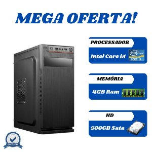 Cpu Montada Core i5 4gb 500gb Windows 10