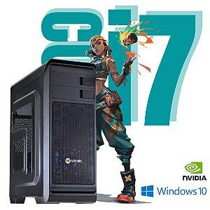 Pc Hunter Gamer i7 16gb Ram Hd 1tb, SSd 120 Win10 2gb Nvídia