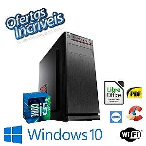 Cpu Montada i5 4gb Hd 1tb Windows 10 - DVD-Rw Com Programas