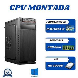 Cpu Core i5 8gb 500gb Windows 10