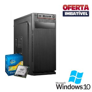 Pc Desktop Core i3 4gb Ram SSd 240 Windows 10