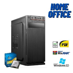 Cpu Home Office 4gb Hd 500 + 120gb de SSd Windows 10