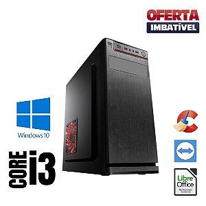 Cpu Montada Core i3 4gb Hd 1tb + SSd 120gb Win10 _ Programas