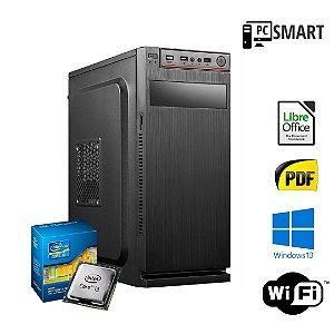 Cpu Montada Core i3 4gb Ram Hd 2tb + SSd 120gb Win10 Pró
