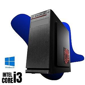 Pc Montada Star Core i3 8gb Ram DDR3 SSd 480gb Windows 10 Pró Com Pacote de Programas - Teclado e Mouse USB