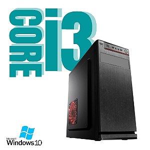 Pc Star Prime Intel Core i3 4gb Ram SSd 240gb Windows 10 Pró - Com Pacote de Programas + Teclado e Mouse USB