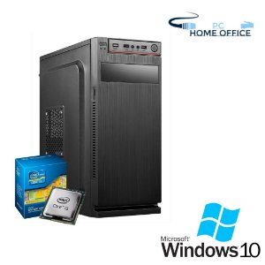 Cpu Home Office Intel Core i3 4gb Ram DDR3 Hd 2tb Windows 10 Pró + Programas Basicos, Teclado e Mouse