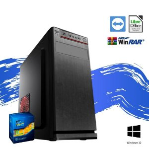 Cpu Star Prime em Oferta - Intel Core i5 8gb Ram DDR3 SSd 240gb Windows 10 Pró  Pacote de Programas + Teclado e Mouse