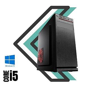 Cpu Desktop Star Premium Intel Core i5 4gb Ram DDR3 Hd de 2tb Windows 10 Pró + Programas Basicos - Teclado e Mouse USB