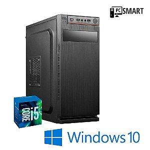 Cpu Smart Prime Montada Intel Core i5 8gb Ram DDR3 Hd 1tb Windows 10 Pró Com Pacote de Programas Basicos + Teclado e Mouse Simples Semi Novo de Brinde