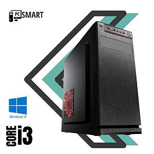 Pc Smart Core i3 4gb Ram SSd 120gb Windows 10 Pró -  Nvidia 2gb - Gravador de Dvd + Pacote de Programas Basicos - Teclado e Mouse Simples