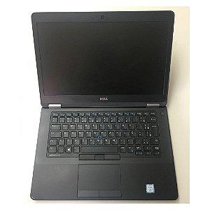 Notebook Dell Latitude E5470 i5 4gb Ram Hd 500gb Win10 Usado