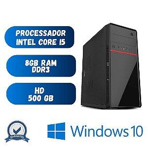 Cpu Desktop Core i5 8gb Ram 500gb de Hd Win10 Promoção !!