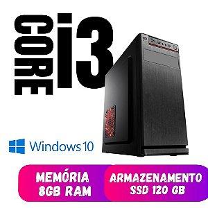 Pc Star Core i3 8gb 120gb de Ssd Windows 10 - Programas