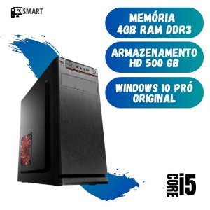 Cpu Montada Core i5 4gb Hd 500 Windows 10